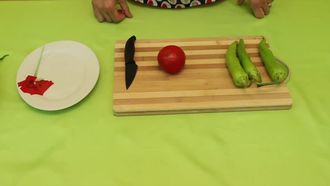 Sebze Süslemeleri- Domatesten Gül Yapımı izle