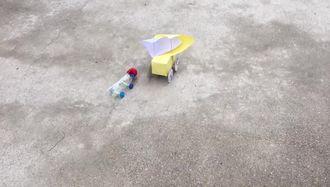 Erdek istiklal ilkokulu Ruzgar enerjisiyle hareket eden araba izle
