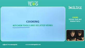 Kitchen Tools and Related Verbs izle