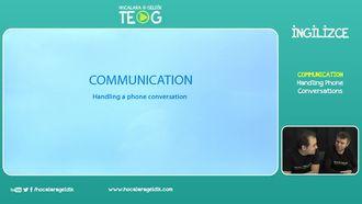 Handling Phone Conversations izle