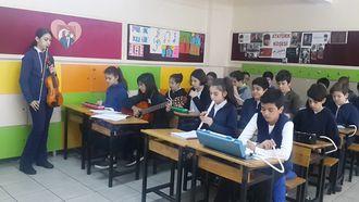 Çankaya Ahmet Vefik Paşa Ortaokulu Ders Etkinliği izle