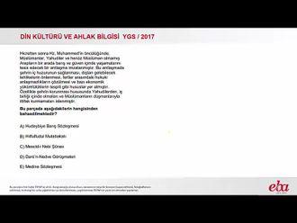 Hz. Muhammed'in Hayatı(2017YGS-Dkab) izle