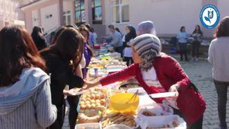 Kumluca Sosyal  Bilimler Lisesi 2-8 Kasım Lösemili Çocuklar Haftası Kermes Etkinliği izle