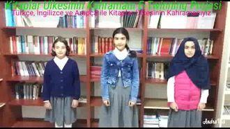 Kitaplar Ülkesinin Kahramanı E-Twinning Projesi izle