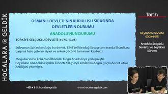 Anadolu Selçuklu Devleti ve Beylikler Dönemi izle