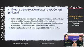 Türkiye'de Buzulların Oluşturduğu Yer Şekilleri izle