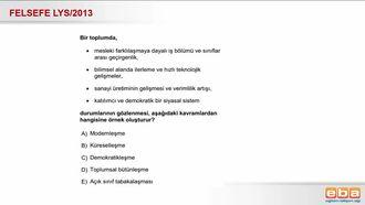 2013 LYS Modernleşme izle