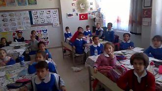 Yünlüce ilkokulu  2/A sınıfı öğrencilerinden tohumlar fidana fidanlar ağaca şark�... izle