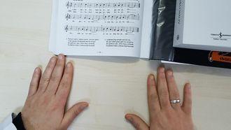 Samanyolu şarkısı Semai usulü ile notaların okunuşu izle