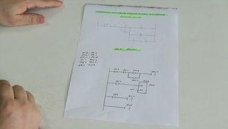 Plc İle Asenkron Motorun Zaman Ayarlı Çalıştırılması izle