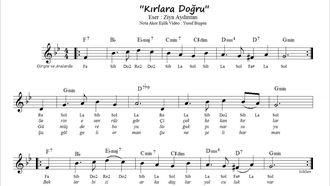 Nota Akor Eşlik Kırlara Doğru - Sol Minör - (Blok Flüt & Melodika ) izle