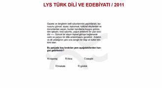 2011/LYS YAZIN TÜRLERİ izle