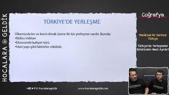 Türkiye'de Yerleşmeler Birbirinden Nasıl Ayrılır? izle