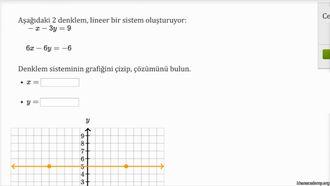 Lineer Denklem Sisteminin Tam ve Yaklaşık Çözümleri (Örnek) izle