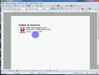 Libre Office Kelime İşlemcide İnternetten Görsel Kopyalama izle