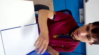 Braille Tablet İle Yazı Yazma izle