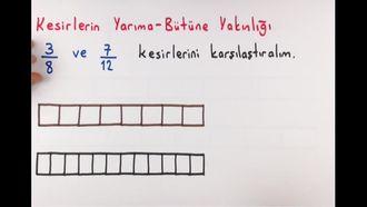 6. Sınıf Matematik Kesirleri Karşılaştırma ve Sıralama izle