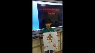 Türk Fransız Kardeşlik Ortaokulu-Hayalimdeki Robot izle