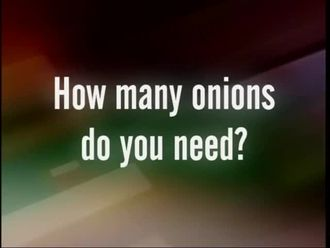 How many onions do you need? izle