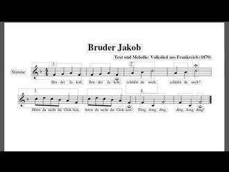 Almanca Bruder Jakop Şarkısı izle