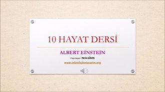 Albert Einstein 10 Hayat Dersi izle