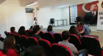 Gaziantep Anadolu Lisesi eTwinning projeleri ögrenci korosu izle