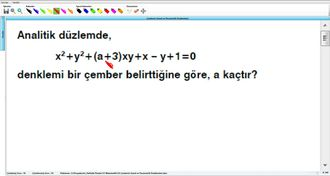 Çemberin Genel ve Parametrik Denklemleri 11 izle