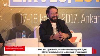 FATİH ETZ 2017 : Prof. Dr. Uğur BATI - Medya Paneli izle