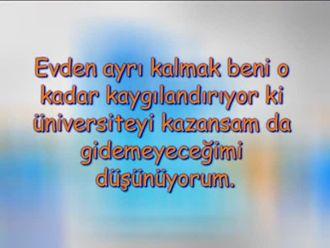 Evden Ayrı Kalmak Beni O Kadar Kaygılandırıyor Ki, Üniversiteyi Kazansam da Gidemeyec... izle
