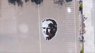 Selçuk Özsoy Ortaokulu Atatürk Silüeti izle