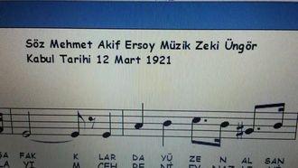 İstiklal Marşı - Mi Minör Tonunda Piyano İle İcra Edilmesi izle