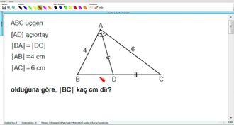 Açıortay Ve Açıortay Teoremleri 9 - EBA BİLİŞİM ORHAN BEY izle