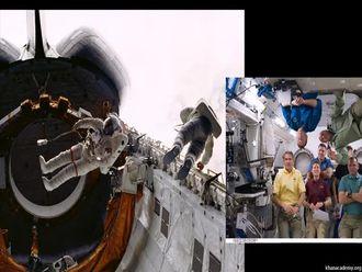 Yörüngedeki Astronotlar İçin Kütleçekim izle