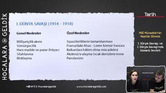 I. Dünya Savaşı ve I. Dünya Savaşı'nda Osmanlı Devleti izle