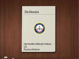 Die Monate-Almanca Aylar izle