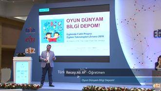 FATİH ETZ 2016 :  Recep Ali AY - Öğretmen- Oyun Dünyam Bilgi Depom! izle