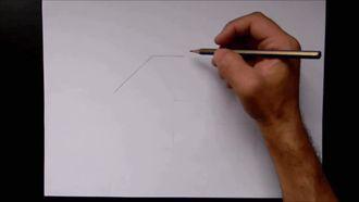 Karakalem Manzara Resim Çizimi ( Su Değirmeni ) izle