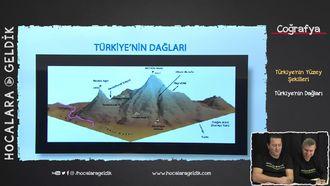 Türkiye'nin Yüzey Şekilleri - Türkiye'nin Dağları izle
