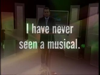 I have never seen a musical izle