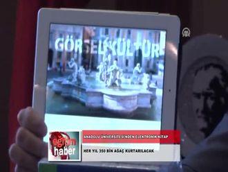 Anadolu Üniversitesi'den Elektronik Kitap (10.10.2012) izle