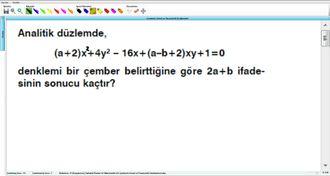 Çemberin Genel Ve Parametrik Denklemleri 13 - EBA BİLİŞİM ORHAN BEY izle