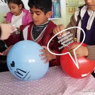 Patlamayan Balon Deneyi izle