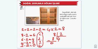 4.sınıflarda bölme işleminde bölümün basamak sayısı izle