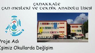 İşimiz Okullarda Değişim-Çanakkale/Çan Mesleki Ve Teknik Anadolu Lisesi izle
