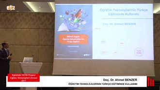 FATIH ETZ 2017 : Doç. Dr. Ahmet BENZER - Öğretim Teknolojilerinin Türkçe Eğitiminde ... izle