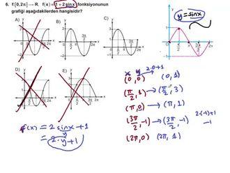 Trigonometrik fonksiyonlarda dönüşüm izle