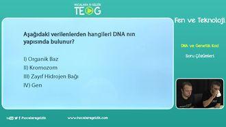 DNA ve Genetik Kod Soru Çözümleri izle