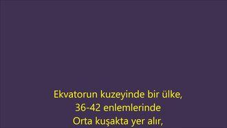 Türkiye'de İklimler Şarkısı izle