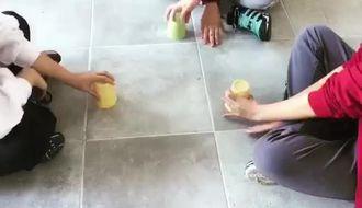 Samsun Atakum Müzik dersi Cup Game Rolling İn the deep Begüm Akkaç izle