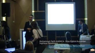 FATİH ETZ 2016 : Muhammet Fatih KARACA -  İhlas Eğitim Kurumları İngilizce Öğretmen... izle